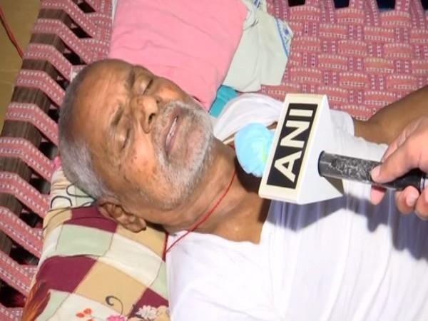 Ram Kumar Dubey talking to ANI on Friday. Photo/ANI