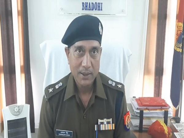 Ram Badan Singh, Superintendent of Police, Bhadohi
