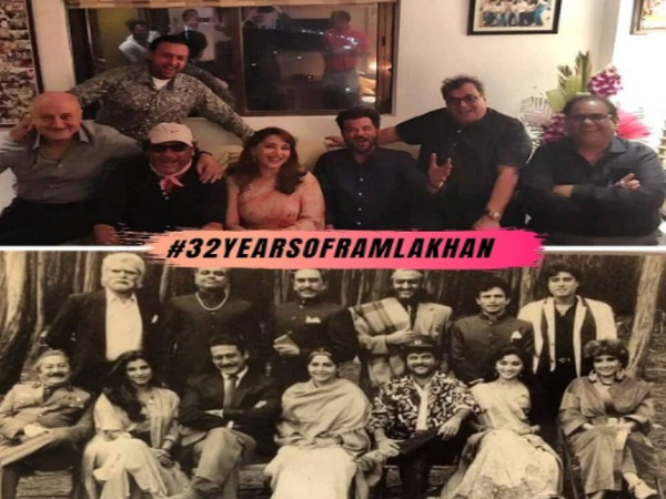 Team 'Ram Lakhan' celebrates 32 year anniversary (Image Source: Instagram)