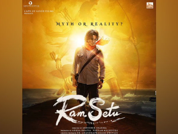 Poster of the film 'Ram Setu' (Image Source: Instagram)
