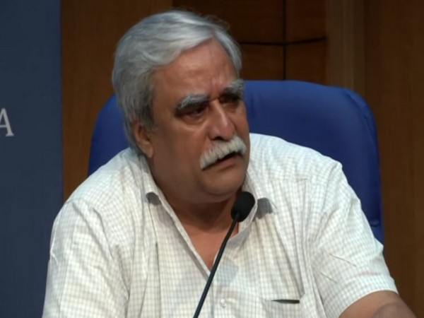 Dr Raman R Gangakhedar, head of ICMR, speaking at the press conference on Thursday. Photo/ANI