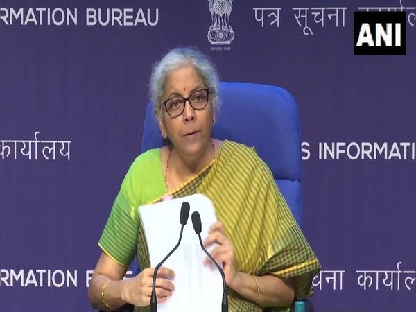 Union Finance and Corporate Affairs Minister Nirmala Sitharaman. (File Photo/ANI)