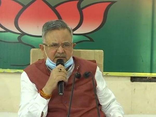 Former Chhattisgarh chief minister Raman Singh (Photo/ANI)
