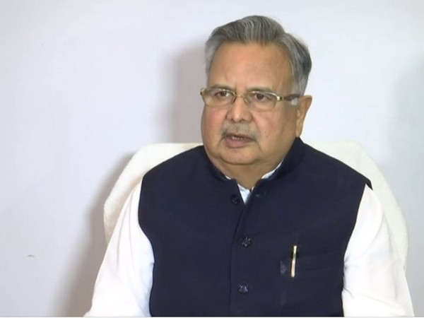 Former Chief Minister of Chhattisgarh and BJP leader Raman Singh speaking to ANI in Raipur on Tuesday. (Photo/ANI)