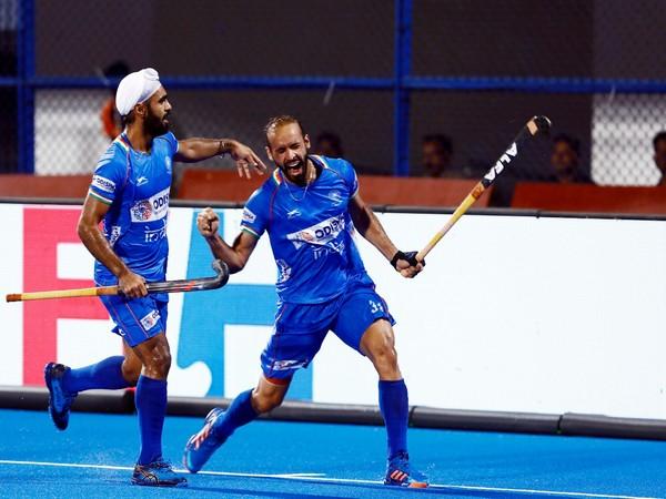 Indian hockey team forward Ramandeep Singh (Photo/Hockey India)