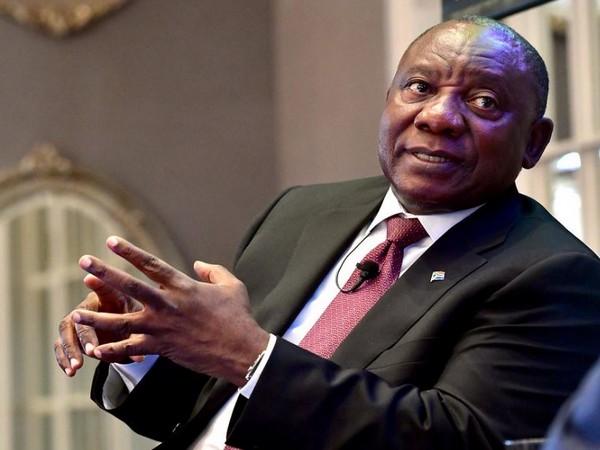 South African President Cyril Ramaphosa (File photo)
