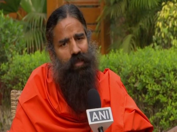 Baba Ramdev speaking to ANI in New Delhi on Thursday [Photo/ANI]