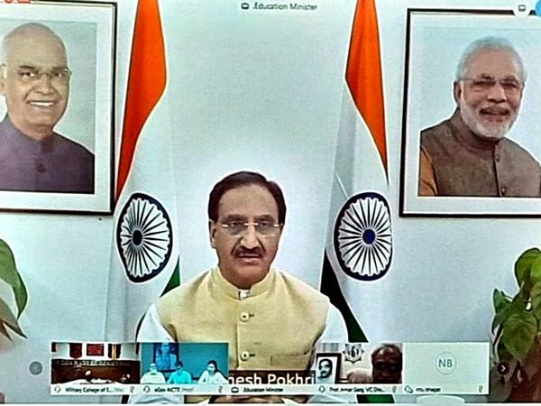 nion Education Minister Ramesh Pokhriyal 'Nishank' (File Photo)