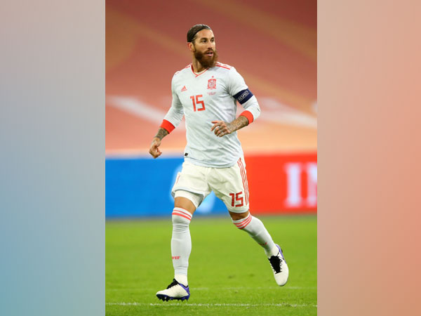 Spain captain and defender Sergio Ramos (Photo/ Sergio Ramos Twitter)