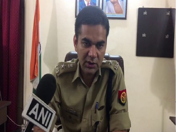 Rampur SP Ajay Pal Sharma speaking to ANI on Friday. Photo/ANI