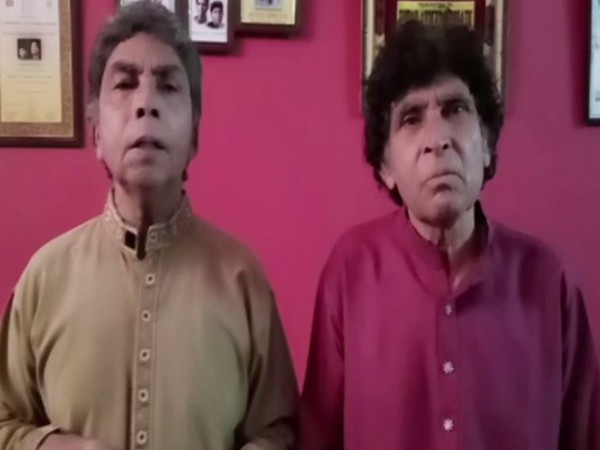 Ustad Ahmed Hussain and Mohammed Hussain released video message on Thursday.