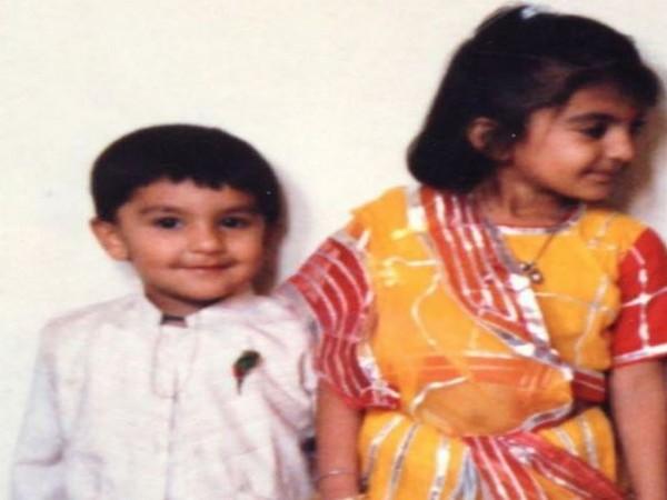 Ranveer Singh with his sister (Image Courtesy: Instagram)