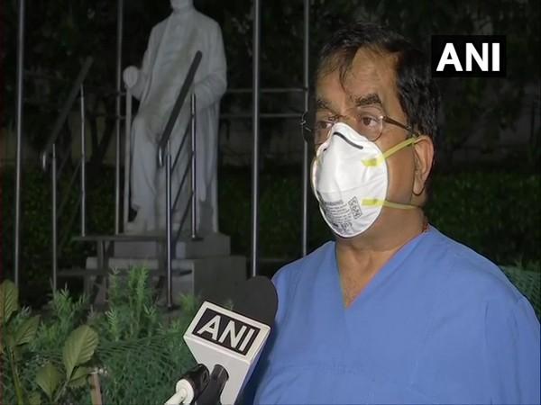 Chairman,Sir Gangaram Hospital Dr DS Rana speaking to ANI on Tuesday. (Photo/ ANI)