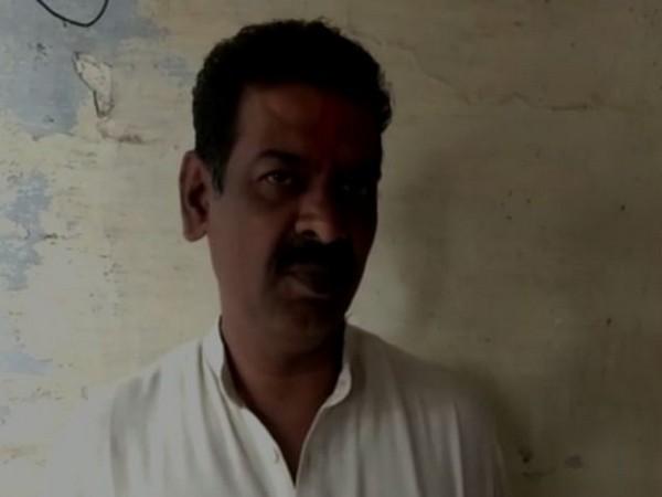 BJP's city president for Deoband, Gajraj Rana (Photo/ANI)