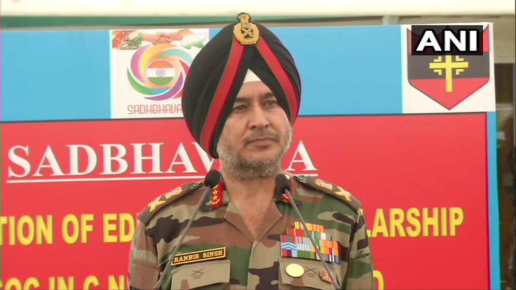 Lt Gen Ranbir Singh, General Officer Commanding-in-Chief, Northern Command