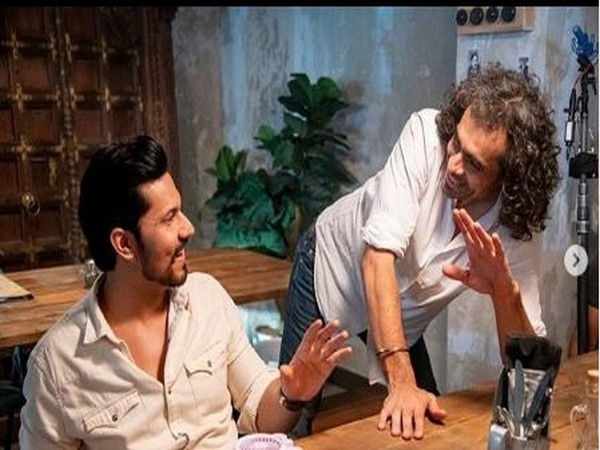 Actor Randeep Hooda with director Imtiaz Ali (Image courtesy: Instagram)