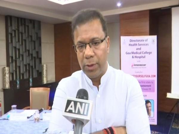 Vishwajit Rane, state health minister of Goa (File)
