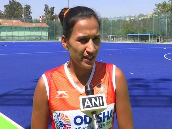 Indian women's hocket team skipper Rani