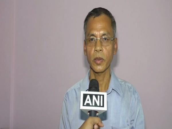 Former Tripura Militant leader Ranjit Debbarma speaking to ANI on Thursday.