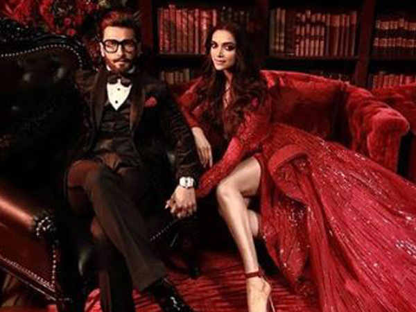 Ranveer Singh and Deepika Padukone, image courtesy: Instagram