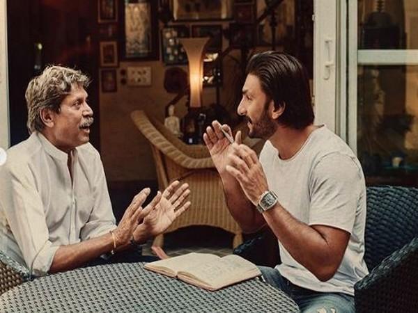 Ranveer Singh with Kapil Dev (Picture Courtesy: Instagram)