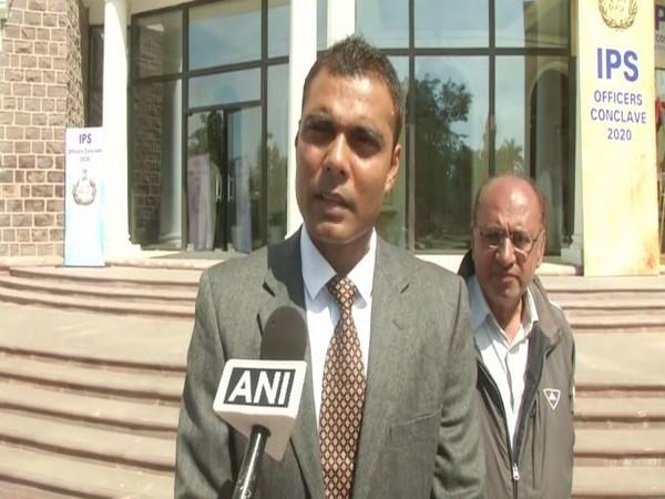DGP Irshad Kamil speaks to ANI  ANI/photo
