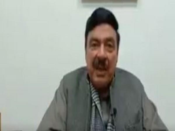 Pakistan Interior Minister Sheikh Rasheed Ahmed