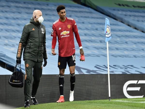 Manchester United forward Marcus Rashford (file image)