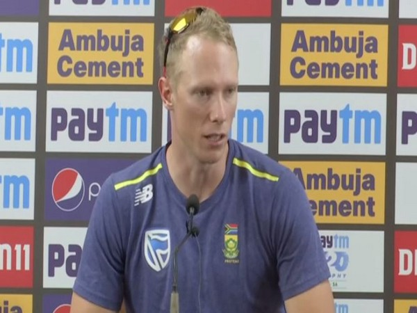 South Africa batter Rassie van der Dussen