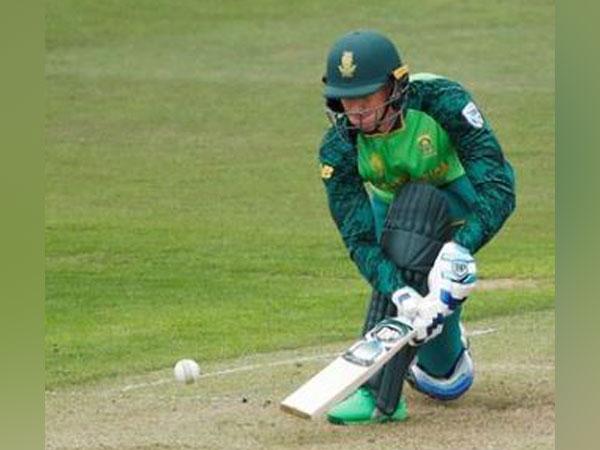 South Africa batsman Rassie van der Dussen