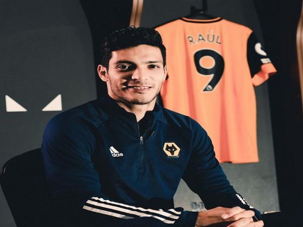 Wolves striker Raul Jimenez (Photo/ Wolves Twitter)