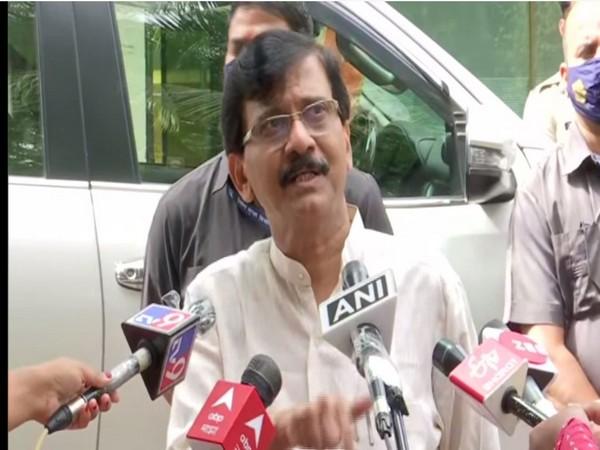 Shiv Sena leader Sanjay Raut. (Photo/ ANI)