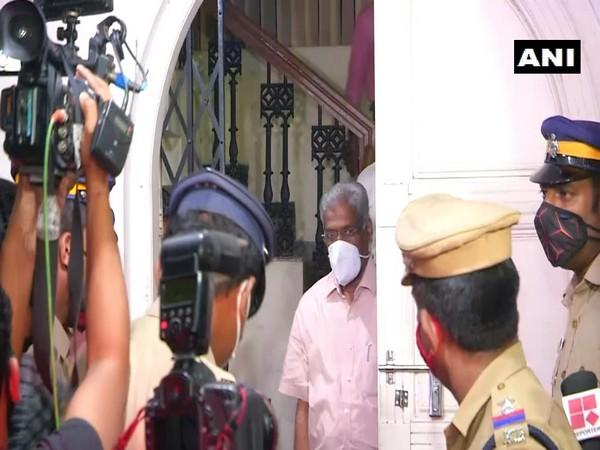 Kerala CM's additional private secretary CM Raveendran (file photo)