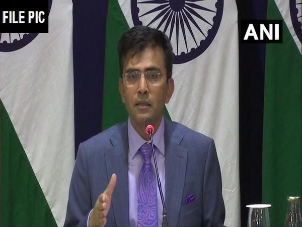 MEA spokesperson Raveesh Kumar (File pic)