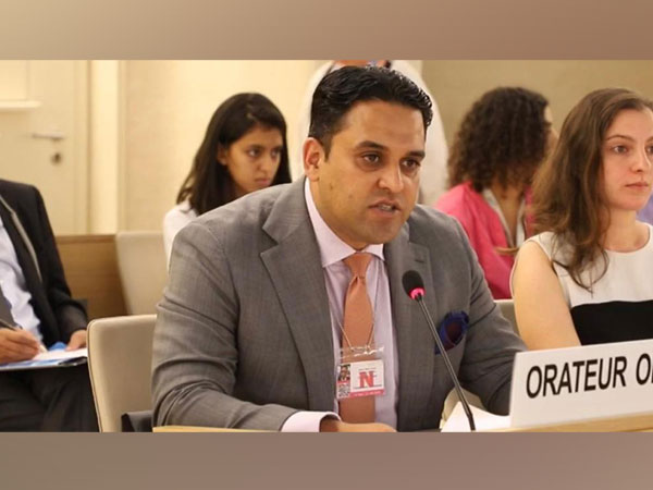 Director of the European Foundation for South Asian Studies (EFSAS), Junaid Qureshi Addressing a general debate during the 41st Session of the UNHRC