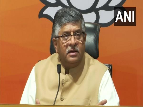 BJP leader Ravi Shankar Prasad. (Photo/ ANI)