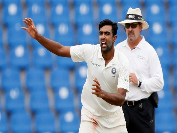Indian spinner Ravichandran Ashwin