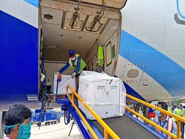 Visual of Covid vaccine delivery operations (Photo Source: AAI)