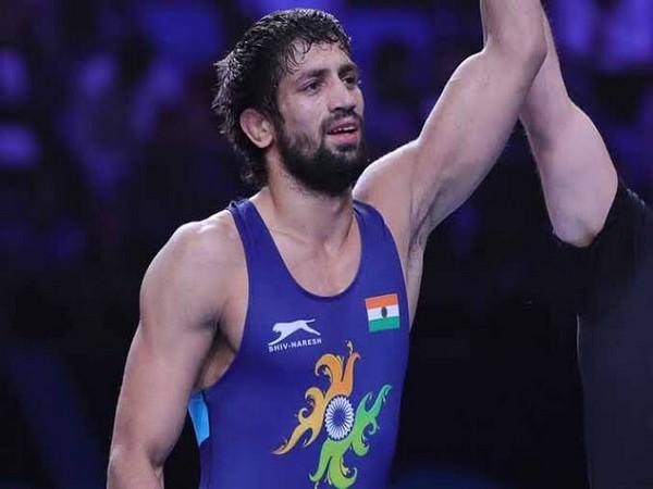 India wrestler Ravi Kumar Dahiya (Photo/SAIMedia Twitter)