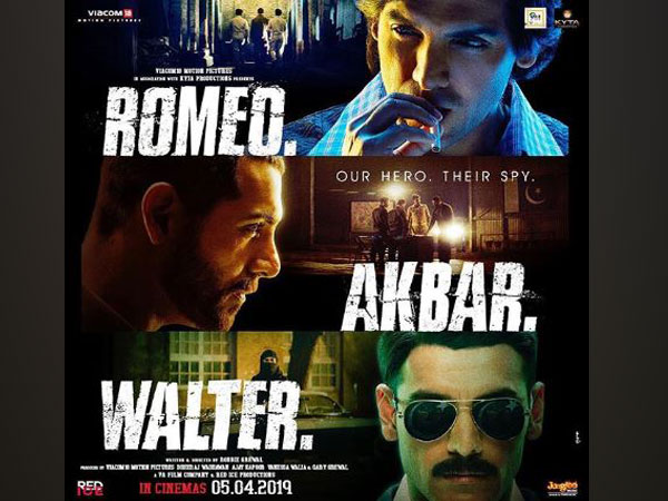 Poster of 'Romeo Akbar Walter', Image courtesy: Instagram