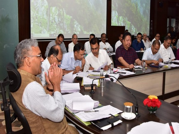 Trivendra Singh Rawat holds review meeting at Secretariat (Source Twitter)