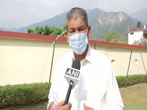 Congress leader Harish Rawat speaking to ANI in Dehradun on Thursday. [Photo/ANI]