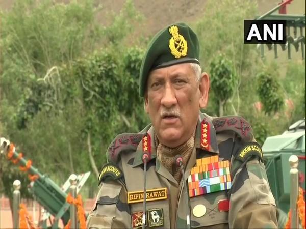 Army Chief General Bipin Rawat. File photo/ANI