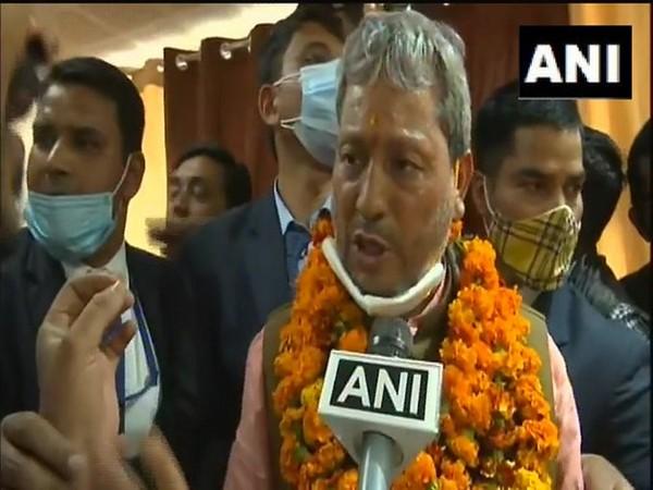 Newly appointed Uttarakhand CM Tirath Singh Rawat (File photo)