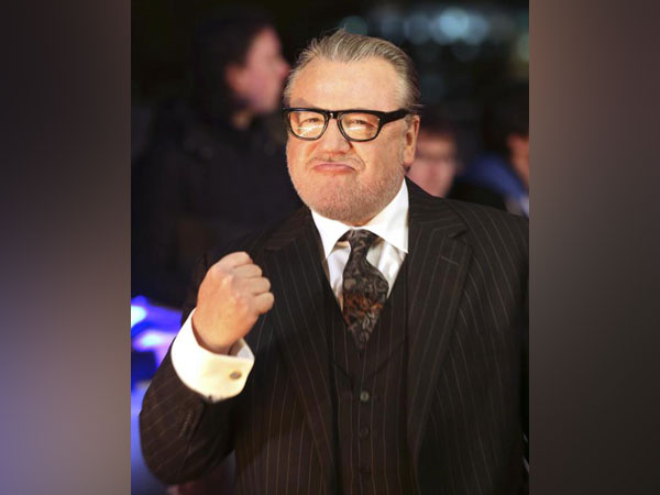 Ray Winstone arrives for the world premiere of the movie 'The Gunman'