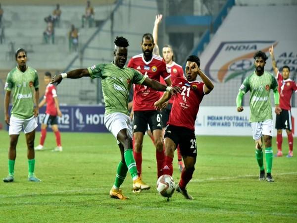 Real Kashmir FC play out a goalless draw against Gokulam Kerala FC. (Photo/ I-League)