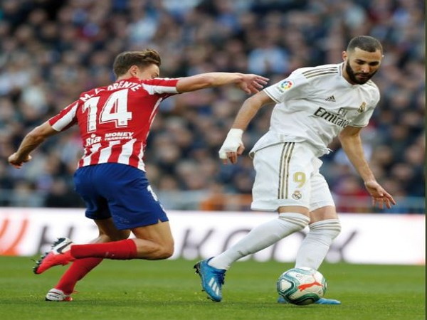 Karim Benzema scored the only goal netted in the match. (Photo/ Real Madrid Twitter)