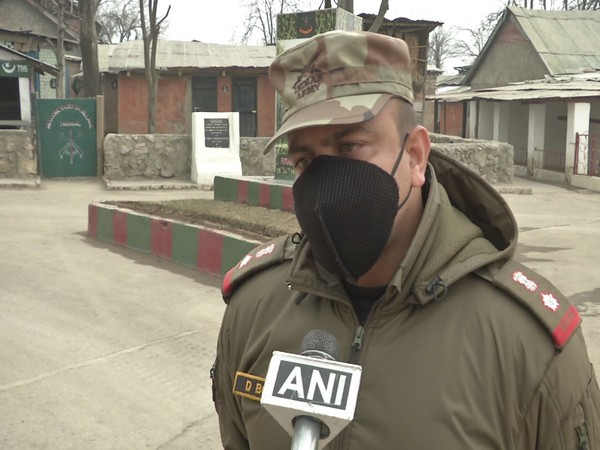 Lt. Col Dipanker Bose, Incharge Corps Battle School Srinagar, speaking with ANI.