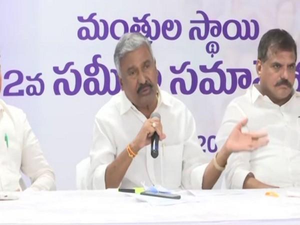 Andhra Pradesh Minister Peddireddy Ramachandra Reddy [File Photo]