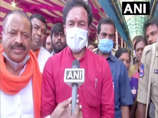 Union Minister of State for Home Affairs G Kishan Reddy. (Photo/ANI)